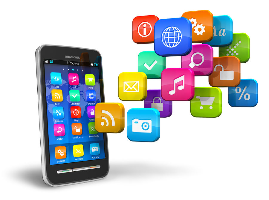 Mobile apps dominate